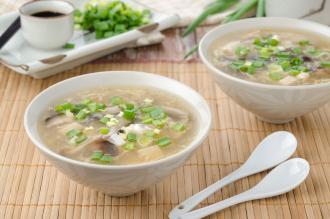 Sopa de tofu FANYA con pollo